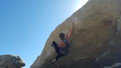Rock Climbing Photo: Sarah onsiting Gospel According to Niles