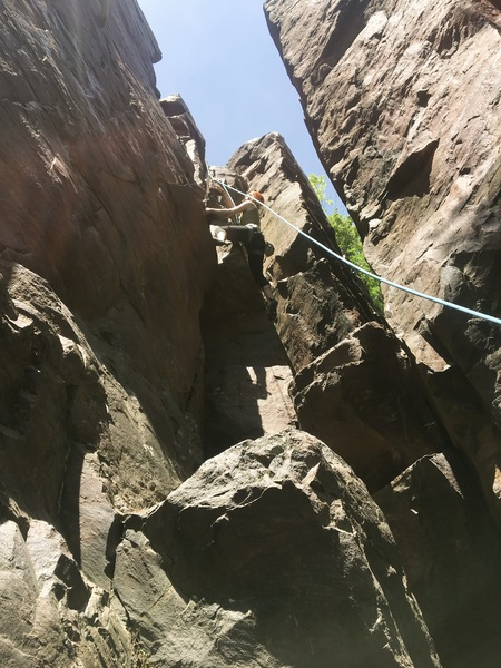 Rock Climbing Photo: First time climbing outdoors with REI Outdoor Scho...