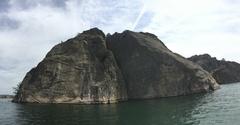 Rock Climbing Photo: Climbing bassomatic on the bastion