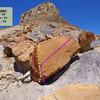 The Rockette Boulder