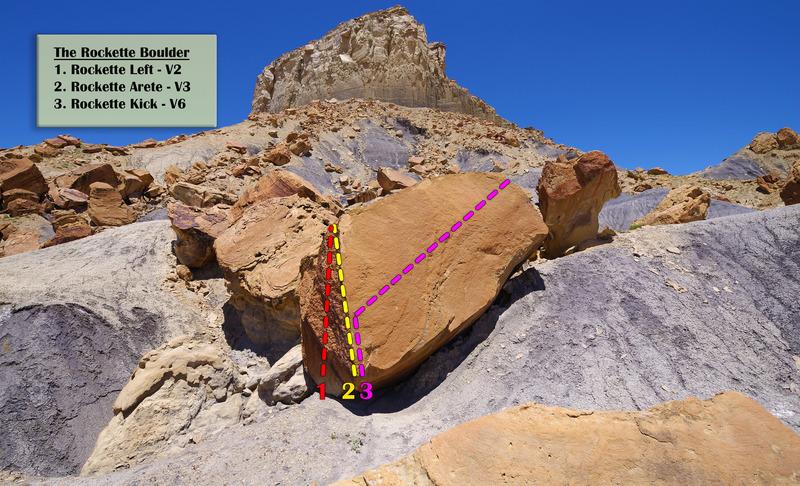 Rock Climbing Photo: The Rockette Boulder