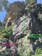 Rock Climbing Photo: Walla Left