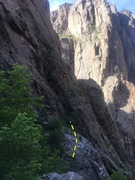 Rock Climbing Photo: This is the approach to Comic Relief and  Escape A...