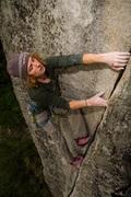 Rock Climbing Photo: Jake Ramsey on Finger Lickin'