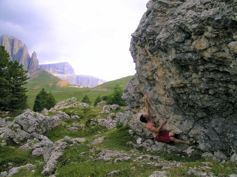 Rock Climbing Photo: Dolomites, 2005
