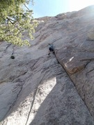 Rock Climbing Photo: Badass route