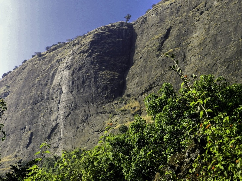 Rock Climbing Photo: This is how the chimney looks early in the morning...