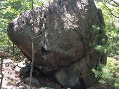 Rock Climbing Photo: Fenway 11 (F11) - Is this Neighborhood Boulder??