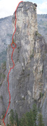 Rock Climbing Photo: Photo overlay of Long Live the Chief