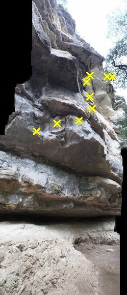 Rock Climbing Photo: Pee Wee's Big Adventure. AKA The Magical Mystery T...
