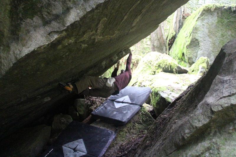 Rock Climbing Photo: Tyler