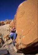 Rock Climbing Photo: Matt Penrod on the 2nd accent