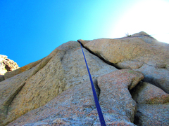 Rock Climbing Photo: Wonderful looking crack. Great to top rope and pra...