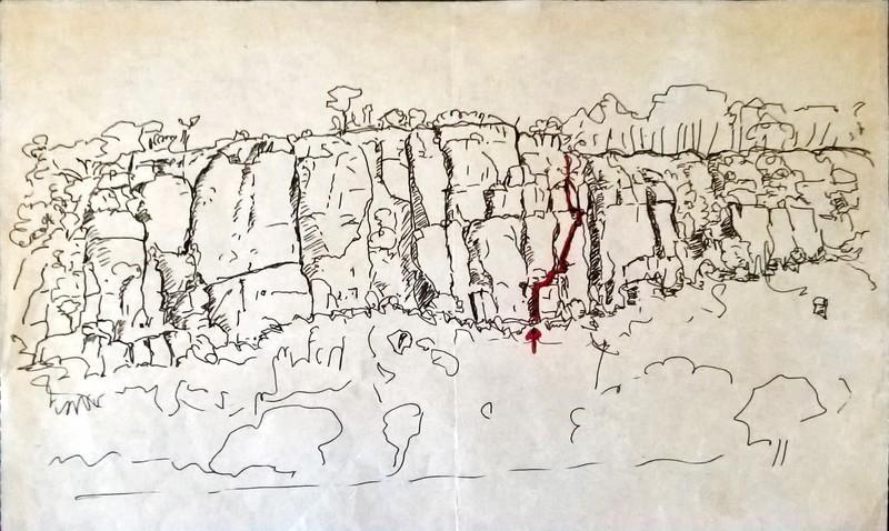 Rapange - MCZ route drawing