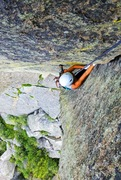Rock Climbing Photo: Following Heartbreak 10d trad