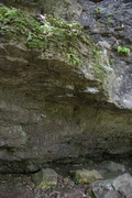 Rock Climbing Photo: Another angle with the overhang
