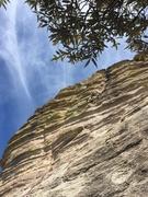 Rock Climbing Photo: Patrick on lead. 3D climbing!