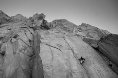 Rock Climbing Photo: Crushing it!