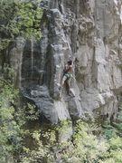 Rock Climbing Photo: Phurba Sherpa gettin' bucked on the Bucket.