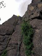 Rock Climbing Photo: Unknown 5.7