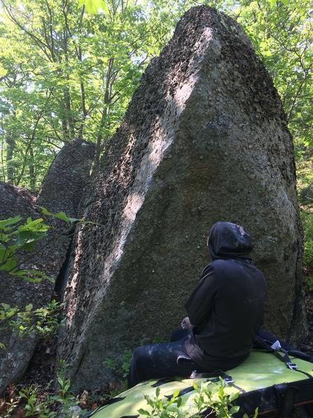 Rock Climbing Photo: Potato Boulder