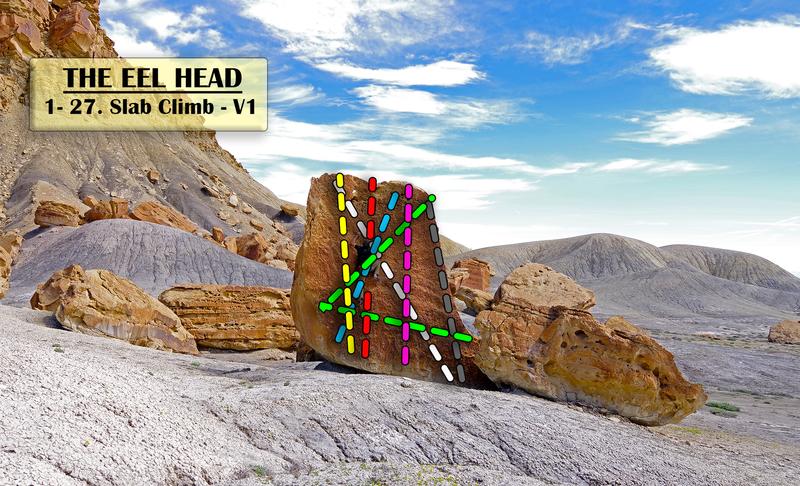 Eel Head Slab Routes