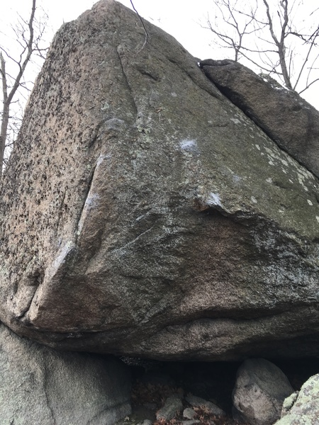 Rock Climbing Photo: Pinch problem