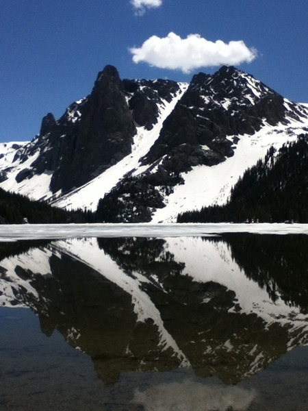 Lost Eagle Pinnacle North and NE Face