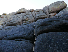 Rock Climbing Photo: Random Crystals as seen from the base of the climb...