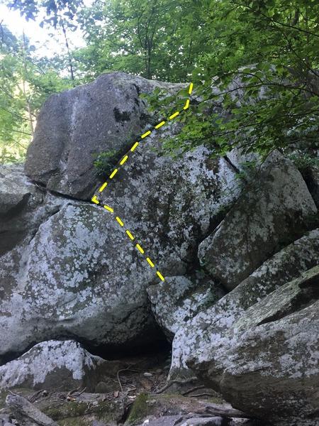 Rock Climbing Photo: Wide Load