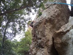 Rock Climbing Photo: Look at those calves.