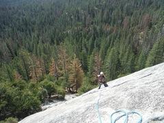 Rock Climbing Photo: Brad Esser on Chiquito