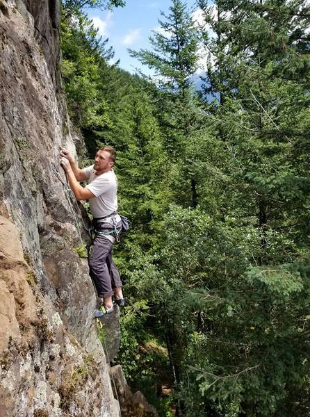 Rock Climbing Photo: Queasy!