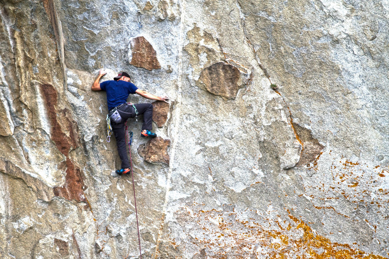 Rock Climbing Photo: Seth Derr on Shes the bosch