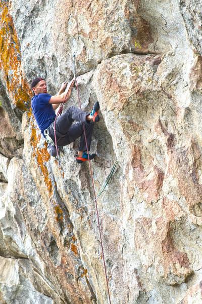 Rock Climbing Photo: Shes the bosch