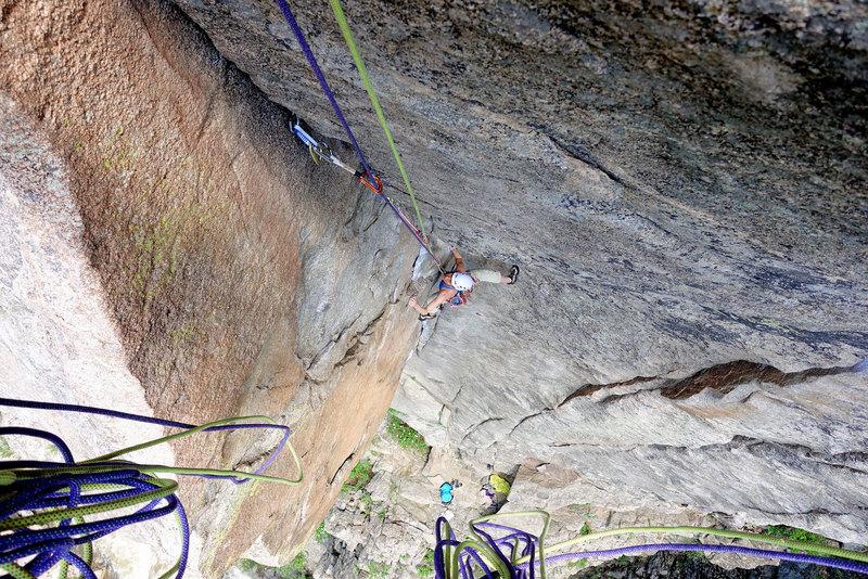 Rock Climbing Photo: Ellen Brodrick on Cosmosis. June 7, 2017.