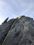 Rock Climbing Photo: a fun groove, almost offwidth if you stay in the c...
