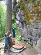 Rock Climbing Photo: Tigerlily Left.