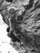 "Rock Climbing Photo: ""New Release"" (12a) // photo: Jake Vita ..."