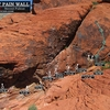Routes at Sweet Pain. First bolts circled. Cheers. (Best viewed at full size)