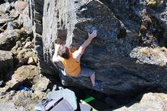 Rock Climbing Photo: Mark