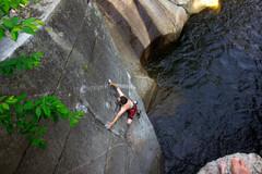 Rock Climbing Photo: Getting it done