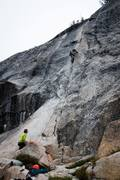 Rock Climbing Photo: Ryan Hill leading Little Sheeba 5.10a