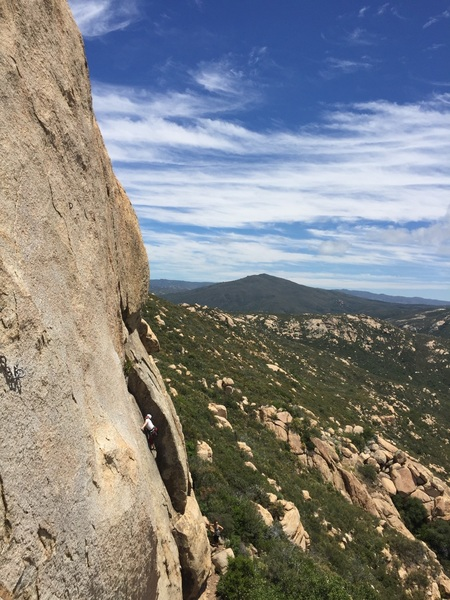Rock Climbing Photo: Getting ready to bail!