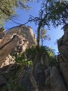 Rock Climbing Photo: The beautiful Nothing but Fun arête (center of pi...