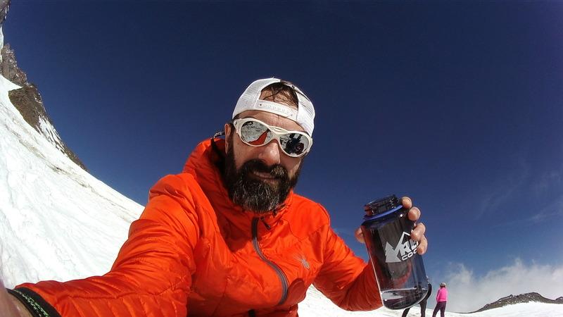 Rock Climbing Photo: Mt Rainier
