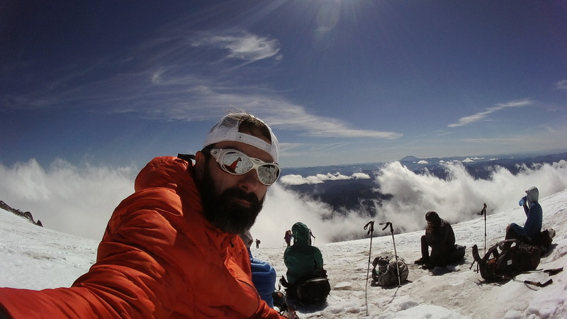 Up to Camp Muir