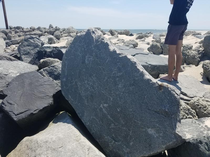 Photo of boulder.