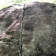 Rock Climbing Photo: What a great first lead! Lots of gear options