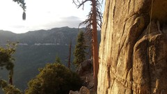 Rock Climbing Photo: Golden hour - Black Bluff